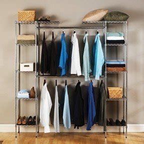 wardrobe with hanging rod foter