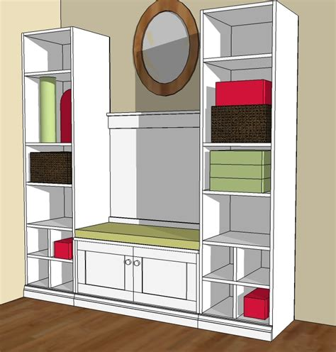 mudroom furniture plans  woodworking