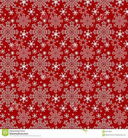 Snowflakes Winter Seamless