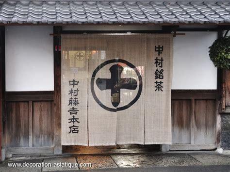 japonais cuisine devant vous le noren un rideau japonais