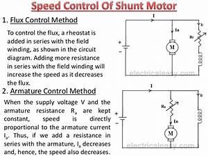 Electric Dc Shunt Motor Wiring Diagram