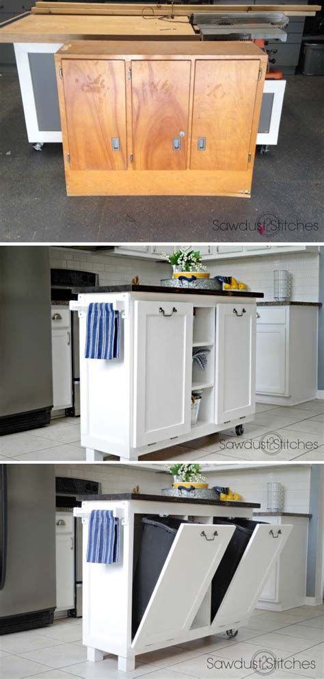 kitchen island with trash can 25 best ideas about kitchen island makeover on 8276