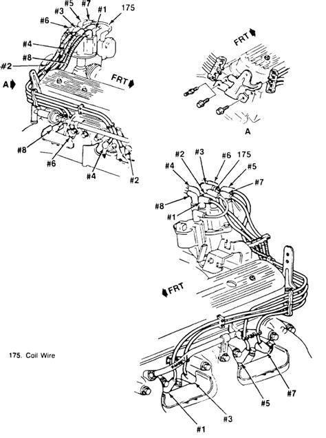 1993 chevy 5 7 spark plug wiring diagram