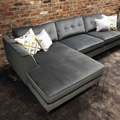 Large Chaise Sofa by Longpoint Lorenzo Large Sofa With Chaise