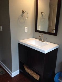wall color sherwin williams mindful gray bathroom in 2019 mindful gray bathroom paint