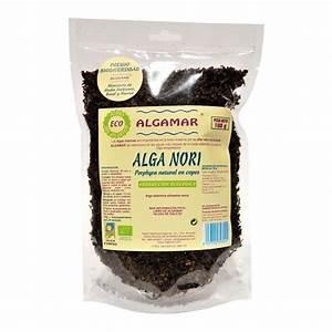 Comprar Alga nori ecológica en copos