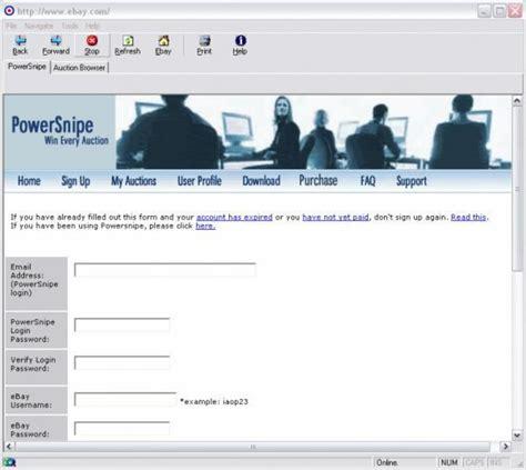 bid sniper free ebay auction sniper and auto search