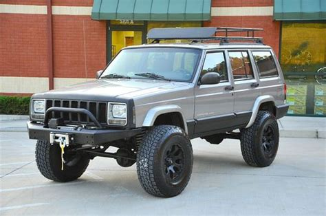 linex jeep cherokee sell used jeep cherokee sport xj lifted new lift