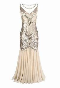 Robe Année 20 Vintage : robe longue style ann e 20 ~ Nature-et-papiers.com Idées de Décoration