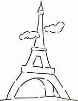 Coloring Eiffel Tower Flag France French Paris Clouds Famous Sheet Tour Drawing Iceland Google Bridge Colouring Printable Sheets Sightseeing Vietnam sketch template