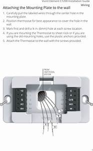Radio Thermostat Of America Ct200r1 Thermostat User Manual