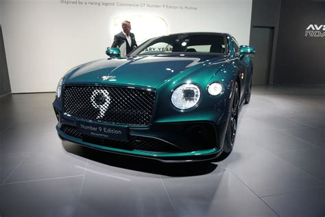 bentley celebrates  years  continental gt number