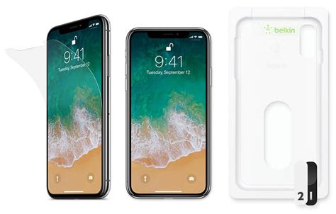 new iphone screen belkin s new iphone x screen protectors now available