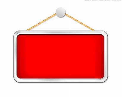 Hanging Sign Blank Template Clipart Board Psd