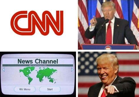 Meme News - with the recent trump cnn tweet does this format have more