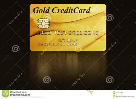 gold credit card royalty  stock  image