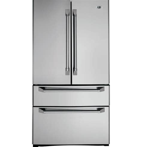 ge monogram  cu ft french door  drawer  standing refrigerator zfgphzss ge