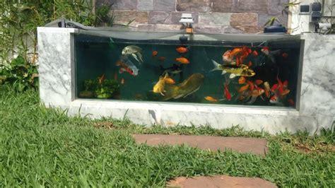 Aquarium En Jardin Youtube