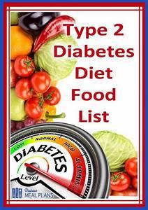 T2 Diabetic Diet Food List [Printable] » Make Me Happy