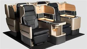 First Look At Qantas39s New Business Class Seat