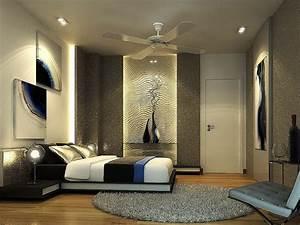 Small, Modern, Bedroom, Decorating, Ideas