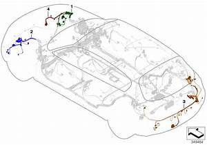 Bmw 328d Rear Repair Wiring Set  Main  Harness  Cable