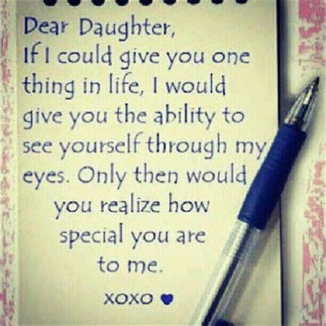 dear daughter quotes  sayings
