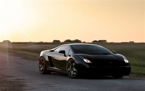Cool Black Lamborghini Gallardo Hd