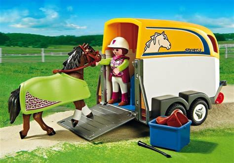 Boat Accessories Paarden Eiland by Playmobil Country Suv With Trailer 5223 Toys