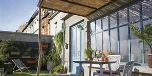 Tonnelle En Bambou : terrasse couverte 6 inspirations copier marie claire ~ Premium-room.com Idées de Décoration