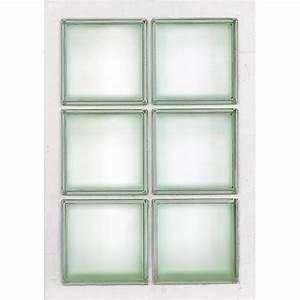 Panneau Brique De Verre : panneau 6 briques de verre transparent leroy merlin ~ Dailycaller-alerts.com Idées de Décoration