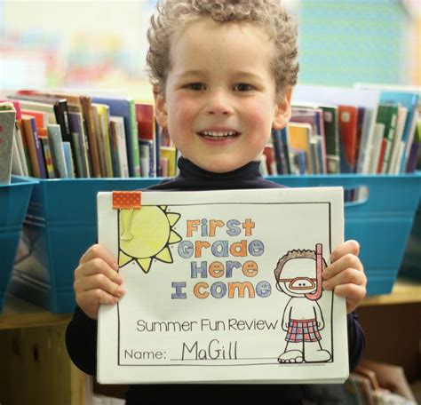 First Grade Here I Come Summer Review Fun  Differentiated Kindergarten