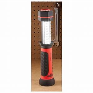 Lightbolt U00ae Flashlight With 30 - Led Light Bar