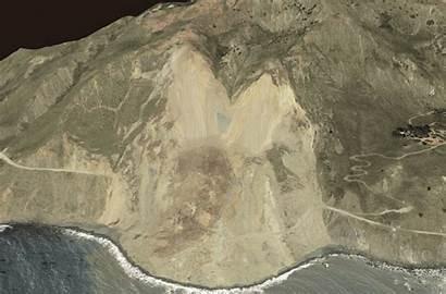 Landslide Drought Disaster Map Into Line Deluge