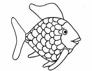Kids Printable Rainbow Fish Coloring Page Free | creative ...