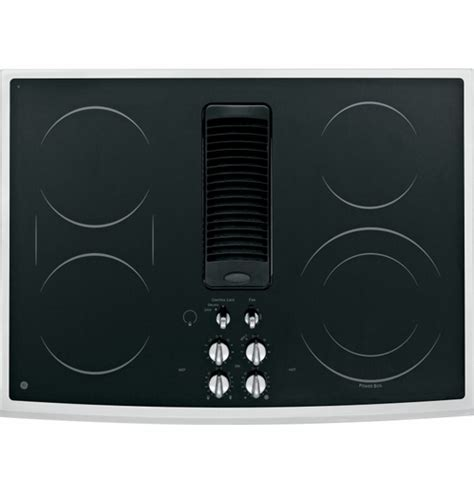 "PP989SNSS GE Profile 30"" Downdraft Electric Cooktop"