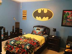 Batman Bedding And Bedroom Décor Ideas For Your Little ...