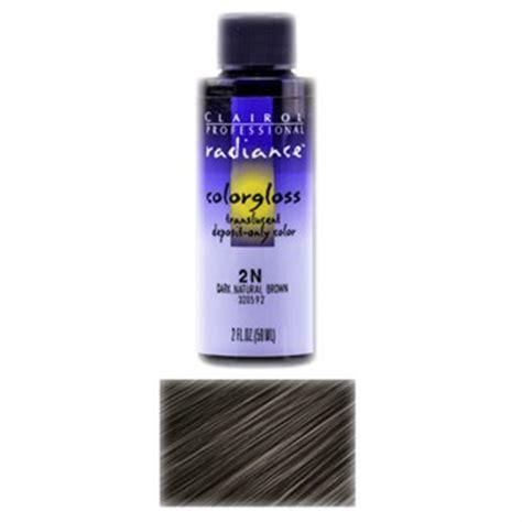 clairol color gloss clairol professional radiance color gloss 2n
