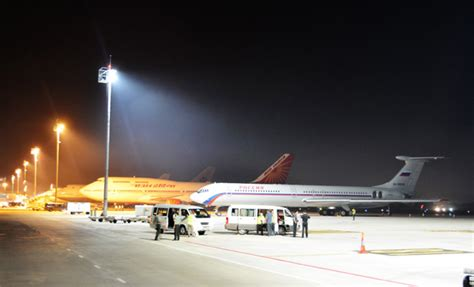 lu high bay led leds at airports more sustainable and increase safety