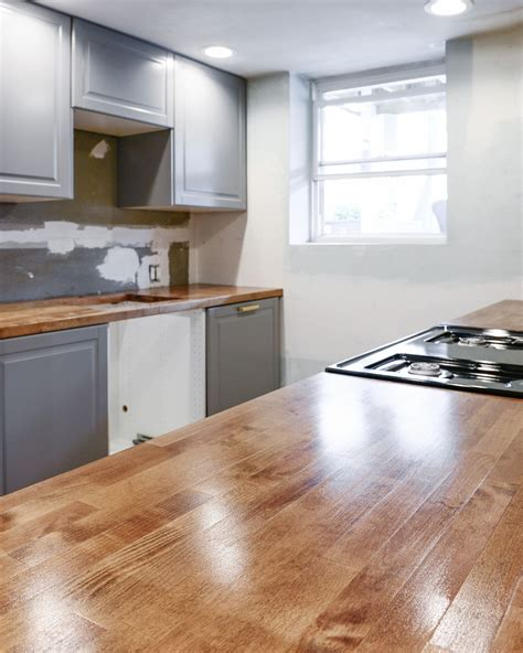 Where To Buy Butcher Block Countertops - installing a butcher block countertop why we chose it