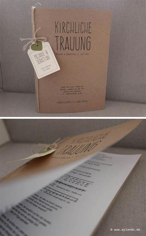 hochzeitskarten aus kraftpapier kraft wedding invitations