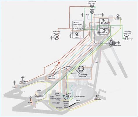 Wiring Diagram 2 Stroke Scooter by Mini Chopper Scooter Wire Diagrams All Diagram Schematics
