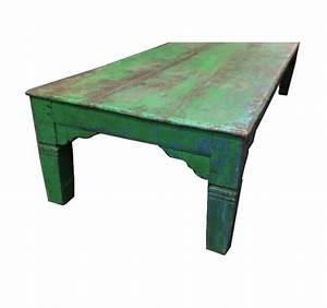 Table Basse Vintage Bois : grande table basse vintage ~ Melissatoandfro.com Idées de Décoration