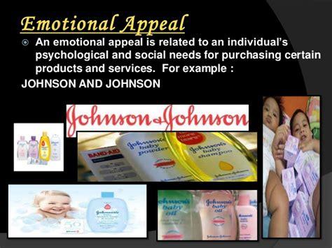 presentational   types  advertising appeals