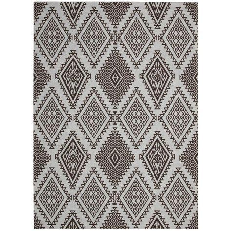 overstock area rugs nourison overstock enhance pond 5 ft x 7 ft area rug