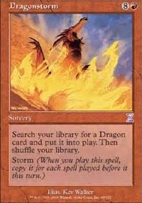 rain of dragons commander edh mtg deck
