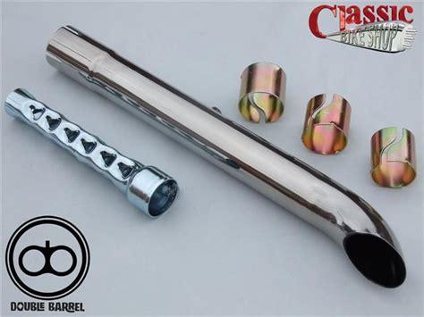 Universal Slash Cut Exhaust Extension Custom Motorcycles 1