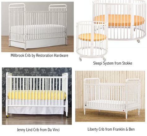 restoration hardware crib bedding nursery katy elliott