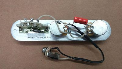 telecaster   wiring harness cts pots crl switch