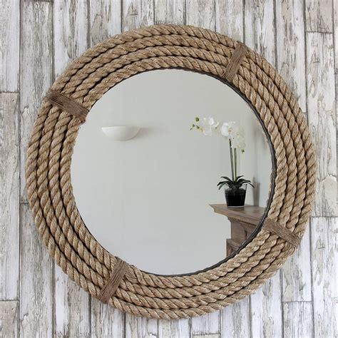 twisted rope  mirror   bathroom mirrors